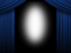 Blue-Curtains