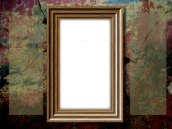 Frame-on-Cracked-Wall
